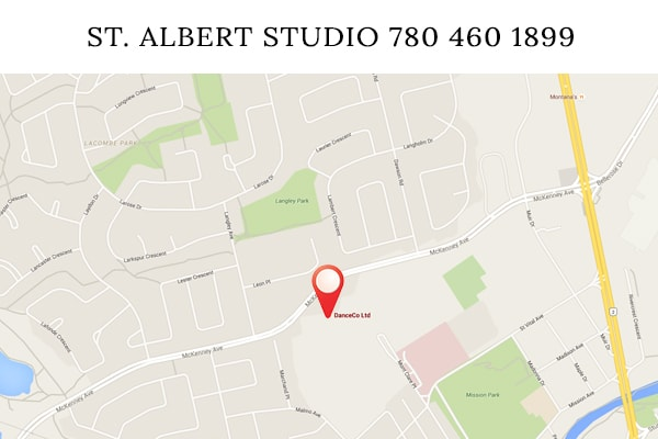 st albert dance map 2