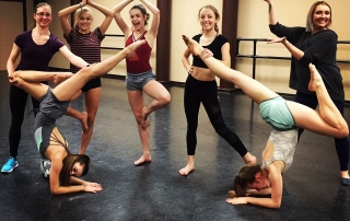 girls rehearsing today at our St Albert studio.