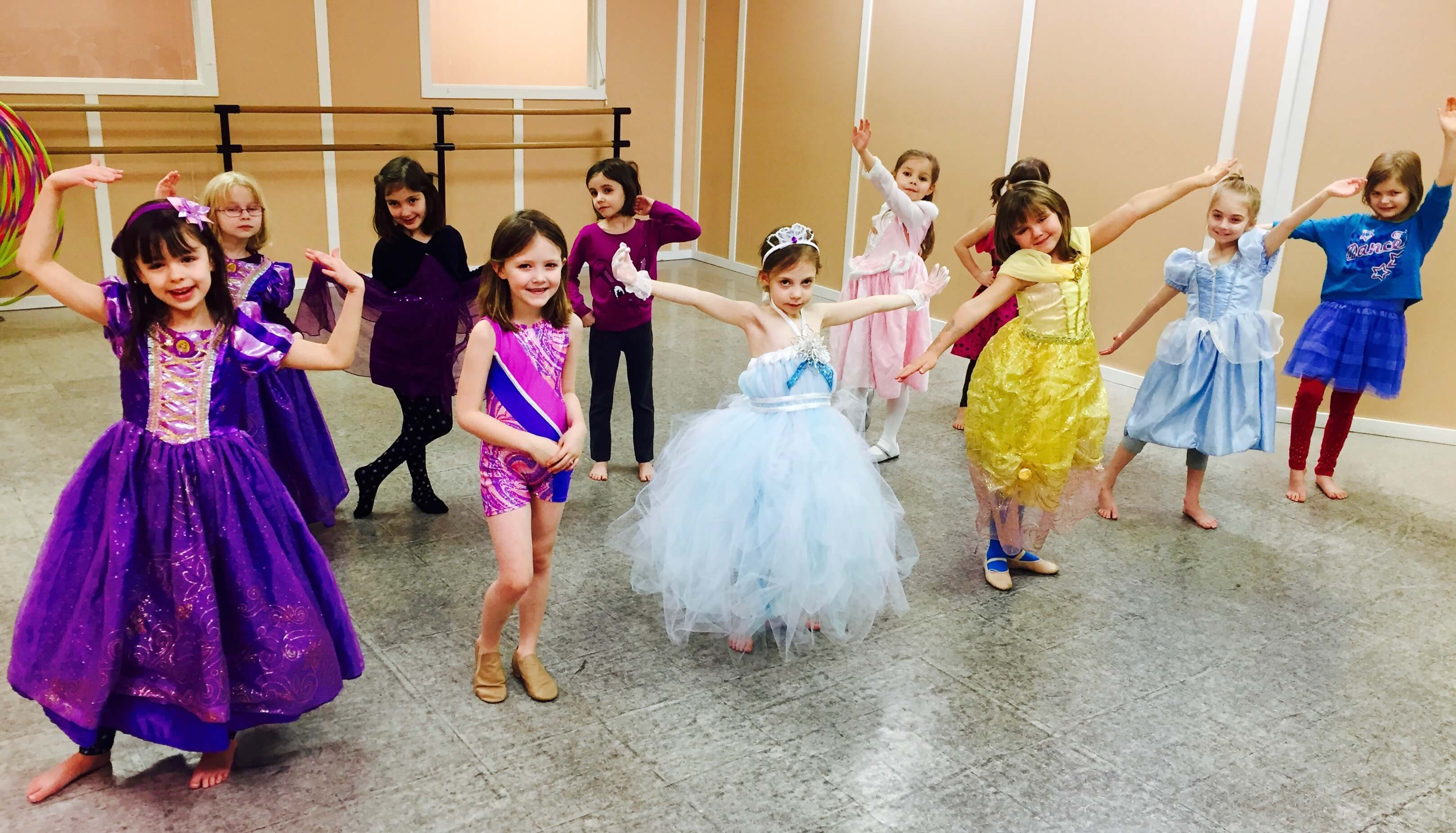 Dance Birthday Parties available