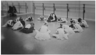 Ballet class at our Edmonton studio